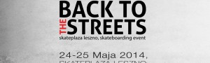 Back To The Streets 2014